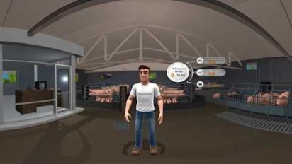 Immersion 3D en 360° chez un éleveur de porcs