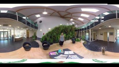 Visite d'usine en vidéo 360° immersive