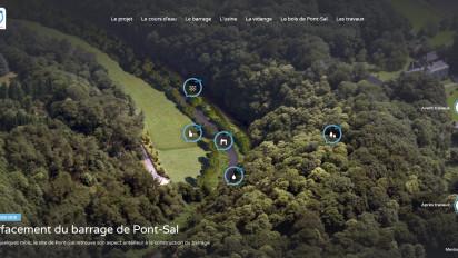 Le site web du Pont-Sal